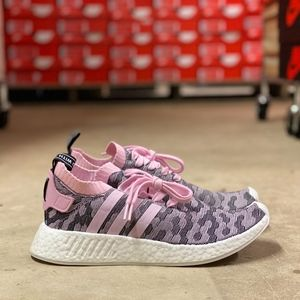 Adidas NMD_R2 Primeknit Boost Women Shoes NEW Sz 9